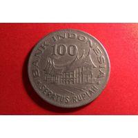 100 рупий 1978. Индонезия.