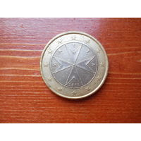 1 евро Мальта. 2008 г.