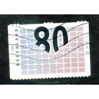 Нидерланды. Ми-952. Бизнес-почта. Стилизованное письмо. 1997