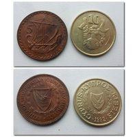 Кипр - две монеты (из коллекции) - цена за все