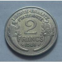 2 франка, Франция 1948 г.