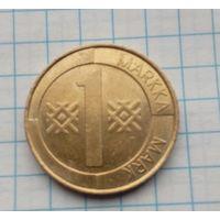 Финляндия 1 маркка 1995г.