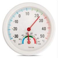 Гигрометр+термометр круглый