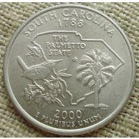 25 центов 2000 США - Южная Каролина