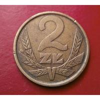 2 злотых 1981 Польша #02