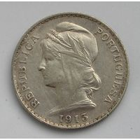 Португалия, 50 Сент. 1913 Серебро (100)