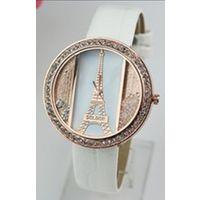 Часы женские Эйфелева Башня с бусинками