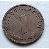 "Германия - Третий рейх 1 рейхспфенниг, 1938  ""A"" - Берлин 4-10-13"