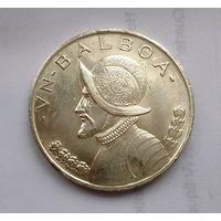 Панама 1 бальбоа 1947 год. ( КОНКИСТАДОР  Vasco Nunez de Balboa) серебро!