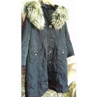 Пальто зимнее размер 54-56