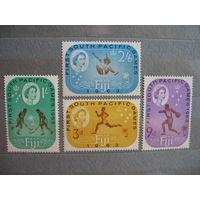 Британская колония Фиджи. Спорт.  1963г.