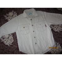 Штроксовая тёплая рубашечка