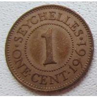 Распродажа! Сейшельские острова 1 цент 1961 РЕДКАЯ. Все монеты с 1 рубля!!