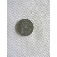 5 лир 1954R Италия КМ# 92 алюминий