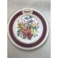 Тарелка настенная коллекционная 22 см the 1984 Chelsea Flower Show plate