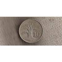 Зимбабве 10 центов 1980(Ki)