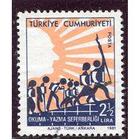 Турция. Компания по ликвидации безграмотности