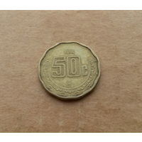 Мексика, 50 сентаво 1996 г.