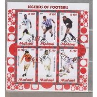Футбол   спорт известные люди Малави 2012 г  лот 51