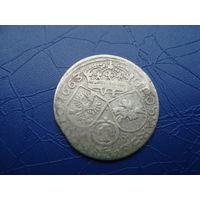 6 грошей (шостак) 1663 (3)         (2841)