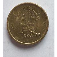 Швеция 10 крон, 1992 5-8-19