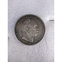 Пруссия , 5 марок 1876 г.