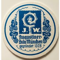 Подставка под пиво Augustiner-Brau Munchen /Германия/-3