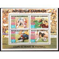 Габон-1994 (Мих.БЛ.77) **  , Спорт, ЧМ-1994 по футболу