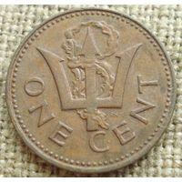 1 цент 1980 Барбадос