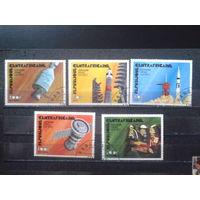 ЦАР 1976 Союз-Аполлон Полная серия Михель-2,6 евро гаш
