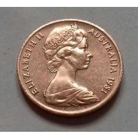 1 цент, Австралия 1981 г.