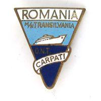 Румыния. Лайнер Трансильвания. Romania m/n Transilvania O.N.T. Carpati