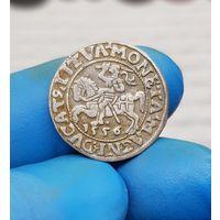 Монета Сигизмунд серебро Литва 1556 С 1 Рубля без МЦ
