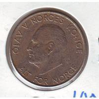 Норвегия. 5 крон 1964 г.