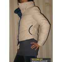 Пуховик женский итальянской фирмы Monte Cervino  Размер  L (44-46) 100% натуральный пух