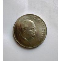 Великобритания 1 крона 1965 год  -  Черчиль