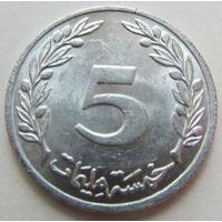 Тунис,5миллим  1983г.