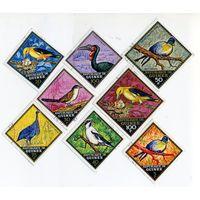 Птицы. Республика Гвинея. 8 шт.