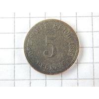 5 пфеннигов 1889