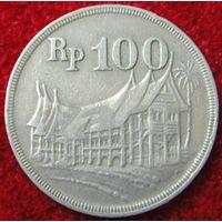4577:  100 рупий 1973 Индонезия