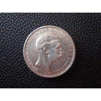 Германия 3 марки 1910 г. Пруссия, серебро