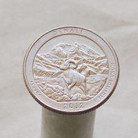 США 25 центов 2012 D Аляска - Национальный парк Денали
