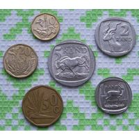 ЮАР 10, 20, 50 центов 1, 2, 5 рандов. Инвестируй в монеты планеты!