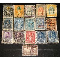 Старый Сиам,  лот из 16 разных марок
