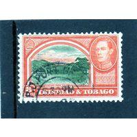 Тринидад и Тобаго.Ми-162. Королевский парк.Саванна. Серия: King George VI.1938