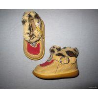 Ботиночки деми кожаные, по стельке 11 см