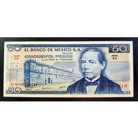 РАСПРОДАЖА С 1 РУБЛЯ!!! Мексика 50 песо 1978 год UNC