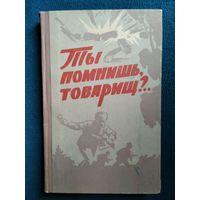 Ты помнишь, товарищ?.. Воспоминания бойцов и командиров тульских партизанских отрядов 1966 год