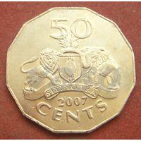 6285: 50 центов 2007 Свазиленд