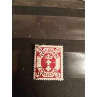 1922 Германия Данциг мих 104 герб (5-2)